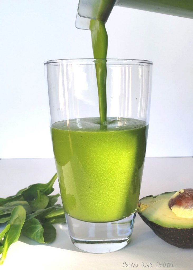 healthy shamrock shake paleo